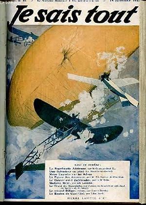 JE SAIS TOUT N°93 / 15 OCTOBRE 1912 - LA SUPRÉMATIE AÉRIENNE,par le ...