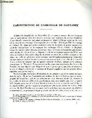 BULLETIN MONUMENTAL 120e VOLUME DE LA COLLECTION N°1 - L'ARCHITECTURE DE L'ABBATIALE ...