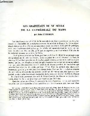 BULLETIN MONUMENTAL 124e VOLUME DE LA COLLECTION N°4 - LES CHAPITEAUX DU XIe SIECLE DE LA ...