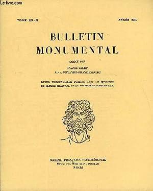 BULLETIN MONUMENTAL TOME 129 N°2 - LA PRIORALE SAINT-LOUIS DE POISSY PAR ALAIN ...