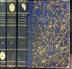 INSTITUTIONES PHILOSOPHICAE - EN 3 VOLUMES : DOMINICUS PALMIERI E.S.