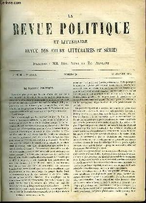 LA REVUE POLITIQUE ET LITTERAIRE 3e ANNEE: VIDAL-LABLACHE, ROCQUAIN FELIX,