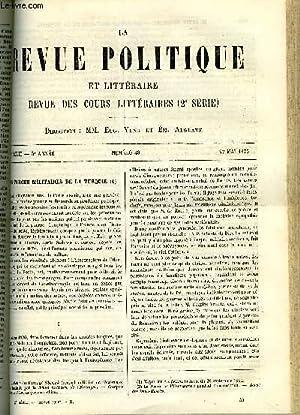 LA REVUE POLITIQUE ET LITTERAIRE 5e ANNEE - 2e SEMESTRE N°48 - LES FORCES MILITAIRES DE LA ...