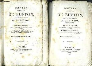 OEUVRES COMPLETES DE BUFFON - HISTOIRE NATURELLE DE L'HOMME - TOME 1+ 2 + 3: BUFFON / ...