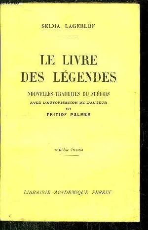 LE LIVRE DES LEGENDES: LAGERLOF SELMA