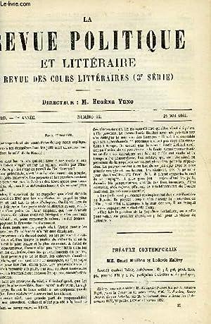 LA REVUE POLITIQUE ET LITTERAIRE 1er ANNEE - 1er SEMESTRE N°22 - HENRI MEILHAC ET LUDOVIC ...