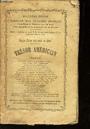 TRESOR AMERICAIN - contenant : le moyen certain et infailliblz d'apprendreseul fort rapidement...