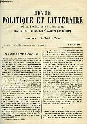 LA REVUE POLITIQUE ET LITTERAIRE 3e ANNEE: BOUILLIER FRANCISQUE, BARRACAND