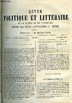 LA REVUE POLITIQUE ET LITTERAIRE 3e ANNEE - 1er SEMESTRE N°3 - LES PRISONS RUSSES PAR LE PRINCE...