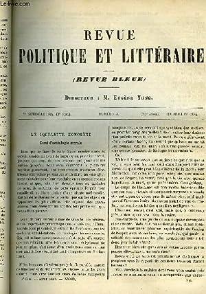 LA REVUE POLITIQUE ET LITTERAIRE 4e ANNEE: MOUTON EUGENE, BREAL