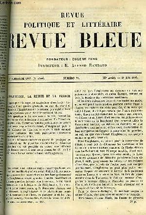 LA REVUE POLITIQUE ET LITTERAIRE 8e ANNEE: LEROY-BEAULIEU ANATOLE, FREHEL