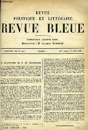 LA REVUE POLITIQUE ET LITTERAIRE 9e ANNEE - 2e SEMESTRE N°7 - LE REQUISITOIRE DE M. DE BEAUREPAIRE ...