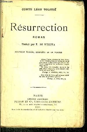 RESURRECTION: TOLSTOI LEON