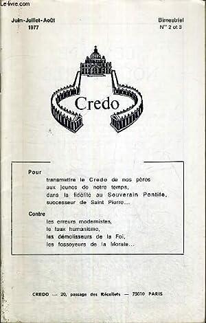 CREDO - BIMESTRIEL N°2 ET 3 -: COLLECTIF