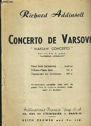 Addinsell Concerto Di Varsavia Pdf