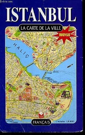 ISTANBUL - LA CARTE DE LA VILLE - FRANCAIS - DE DIMENSION D'ENVIRON DE 55 * 80 CM: COLLECTIF