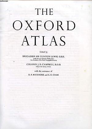 THE OXFORD ATLAS: LEWIS Sir CLINTON,