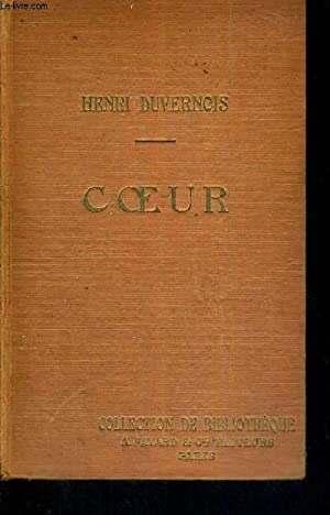 COEUR - COLLECTION DE BIBLIOTHEQUE: DUVERNOIS HENRI