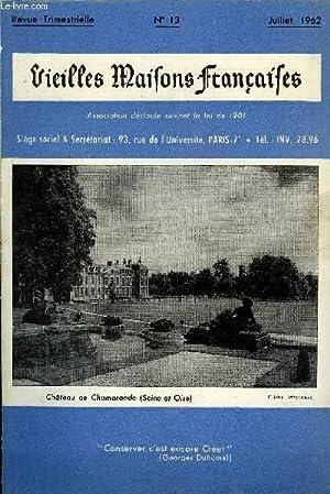 VIEILLES MAISONS FRANCAISES N°13 - Coup d'aile: DE POLIGNAC H,