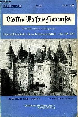 VIEILLES MAISONS FRANCAISES N°37 - Editorial, par Anne de AMODIO .Le château de Jumilhac ...