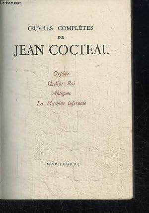 OEUVRES COMPLETES DE JEAN COCTEAU VOL. V: COCTEAU JEAN
