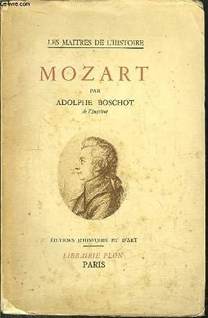 MOZART: BOSCHOT ADOLPHE