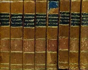 BIBLIOTHEQUE CHOISIE DES PERES DE L'EGLISE GRECQUE ET LATINE - OU COURS D'ELOQUENCE ...
