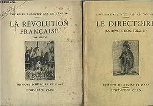 LA REVOLUTION FRANCAISE - EXTRAITS DES MEMOIRES DU TEMPS - TOME 2 ET 3 / COLLECTION L'...
