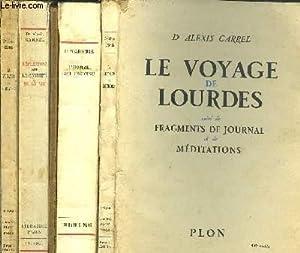 LOT DE 5 LIVRES : SOMMAIRES DES TITRES EN NOTICE DONT : Sommaire des titres : Le voyage de Lourdes ...