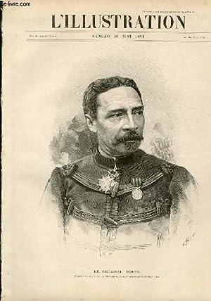 L'ILLUSTRATION JOURNAL UNIVERSEL N° 2621 - Gravures: le general Dodds par H.Thiriat - le ...