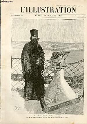 L'ILLUSTRATION JOURNAL UNIVERSEL N° 2642 - Gravures: l'escadre russe, le Pope du bord...