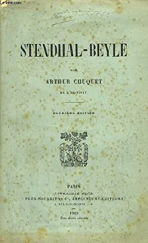 STENDHAL-BEYLE: CHUQUET ARTHUR