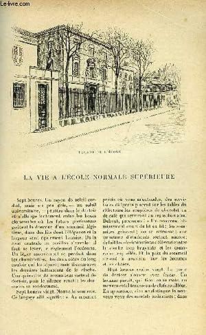 LE MONDE MODERNE TOME 14 - LA VIE A L'ECOLE NORMALE SUPERIEURE: BAILLY A.