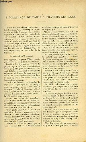 LE MONDE MODERNE TOME 15 - L'ECLAIRAGE: ARZANO CH., NORRIS