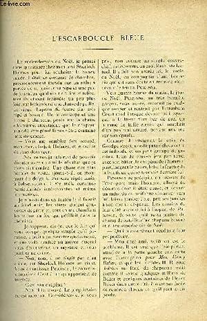 LE MONDE MODERNE TOME 16 - L'ESCARBOUCLE BLEUE: DOYLE CONAN