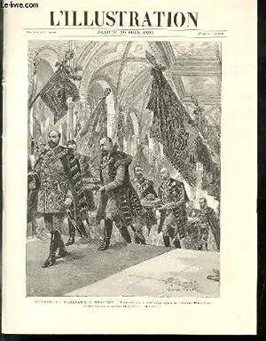 L'ILLUSTRATION JOURNAL UNIVERSEL N° 2782 - Gravures: les fetes du millénaire à Budapest, ...
