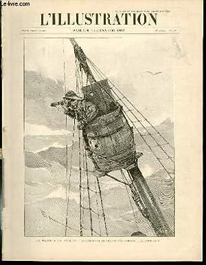 L'ILLUSTRATION JOURNAL UNIVERSEL N° 2812 - Gravures: la peche à la baleine, le ...