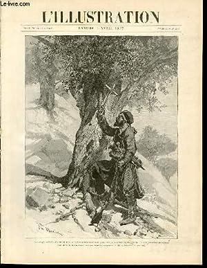 L'ILLUSTRATION JOURNAL UNIVERSEL N° 2823 - Gravures: insurgé crétois plantant une croix sur ses...