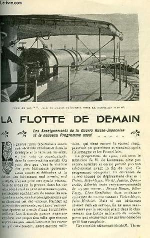 LE MONDE MODERNE TOME 23 - LA FLOTTE DE DEMAIN: LESTONNAT RAYMOND