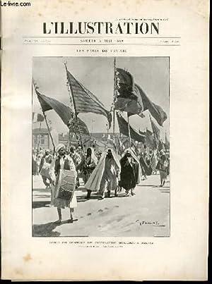 L'ILLUSTRATION JOURNAL UNIVERSEL N° 2932 - Gravures: les fetes de Tunisie, défil&...