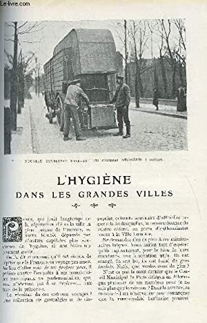 LE MONDE MODERNE TOME 26 - L'HYGIENE DANS LES GRANDES VILLES: FORBIN V.