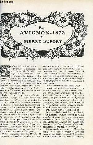 LE MONDE MODERNE TOME 26 - EN AVIGNON 1672 - PIERRE DUFORT: SAINT-MARTIN JEAN