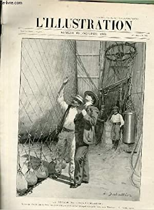 "L'ILLUSTRATION JOURNAL UNIVERSEL N° 3060 - Gravures: le voyage du ""Méditerran&..."