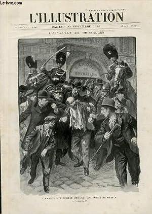 L'ILLUSTRATION JOURNAL UNIVERSEL N° 3117 - Gravures: l'attentat de Bruxelles, l'...