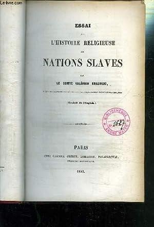ESSAI SUR L HISTOIRE RELIGIEUSE DES NATIONS SLAVES: KRASINSKI VALERIEN LE COMTE