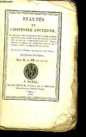 BEAUTES DE L'HISTOIRE ANCIENNE / 2e EDITION: M. J. PH.