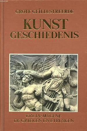 GROTE GEÏLLUSTREERDE KUNST GESCHIEDENIS, 3 DEEL, KRETA,: COLLECTIF
