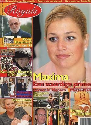 ROYALS, Nr. 8, AUG. 2002 (Inhoud: Maxima,: COLLECTIF