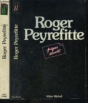 PROPOS SECRETS- 2 TOMES EN 2 VOLUMES: PEYREFITTE ROGER