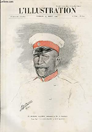 L'ILLUSTRATION JOURNAL UNIVERSEL N° 3209 - Gravures: le Général Stoessel, commandant en chef de...